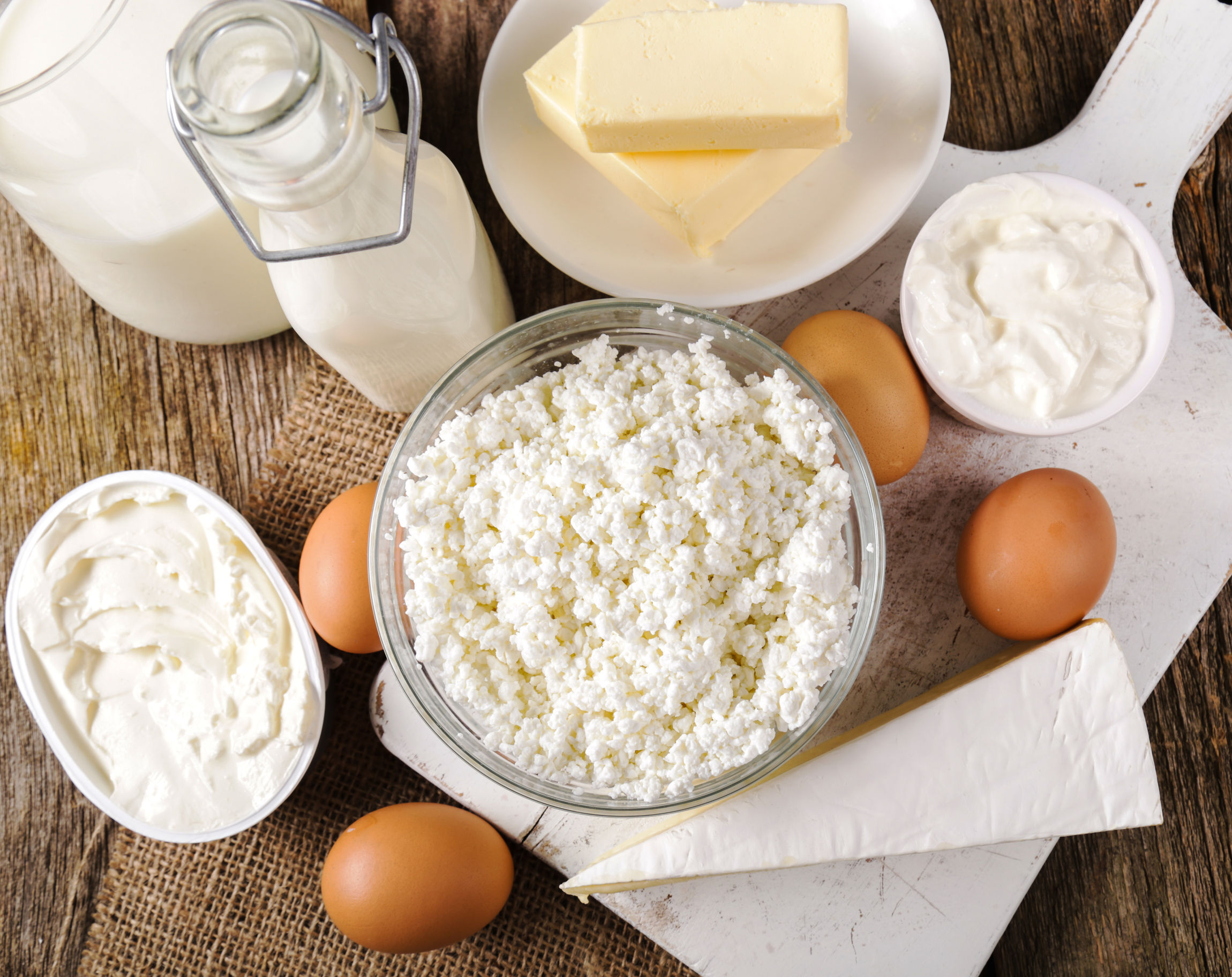 Dairy for fertility
